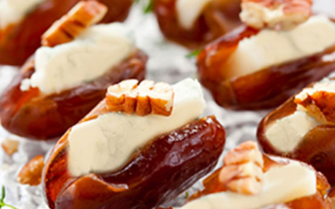 Mascarpone Cheese in Fresh Dates
