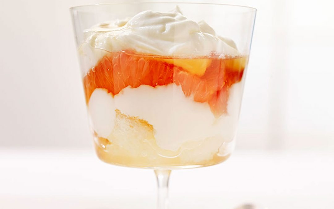 Mascarpone and Pink Grapefruit Verrines